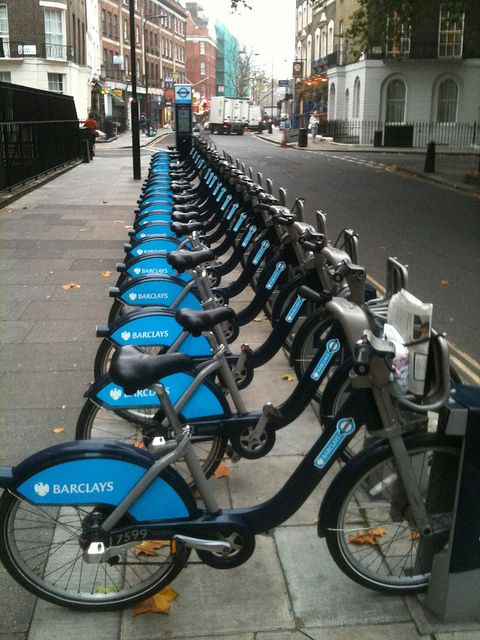 Boris Bikes, as Londoners affectionately call them, are the new alternatives to daily bike rentals and the confines of bus routes. The bikes provide a cheap and convenient way to get across town quickly whenever the mood might strike you.  They're likely to be of particular value if you are staying in the centre of town when visiting London - for example in a Kings Cross hotel http://www.tunehotels.com/gb/en/our-hotels/kings-cross-london/