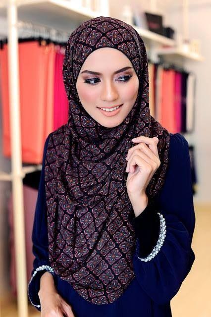 Cute hijab style -1-
