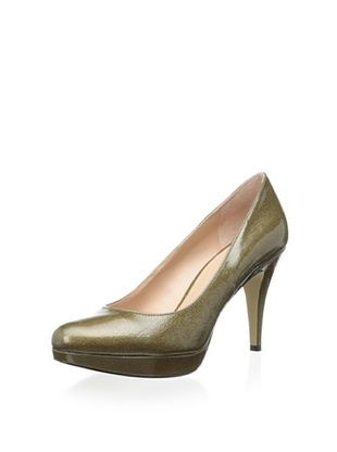 75% OFF Enzo Angiolini Women's Dixy3 Platform Pump (Bronze Synthetic)