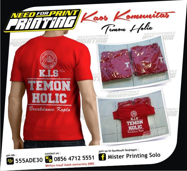 Kaos Komunitas - Temon Holic.png