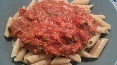 Pasta met Tonijn, lekkere, goedkope en makkelijke maaltijd