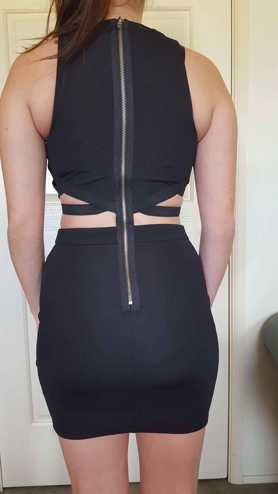 Black Dress - Size 8 - Paper Scissors  | eBay