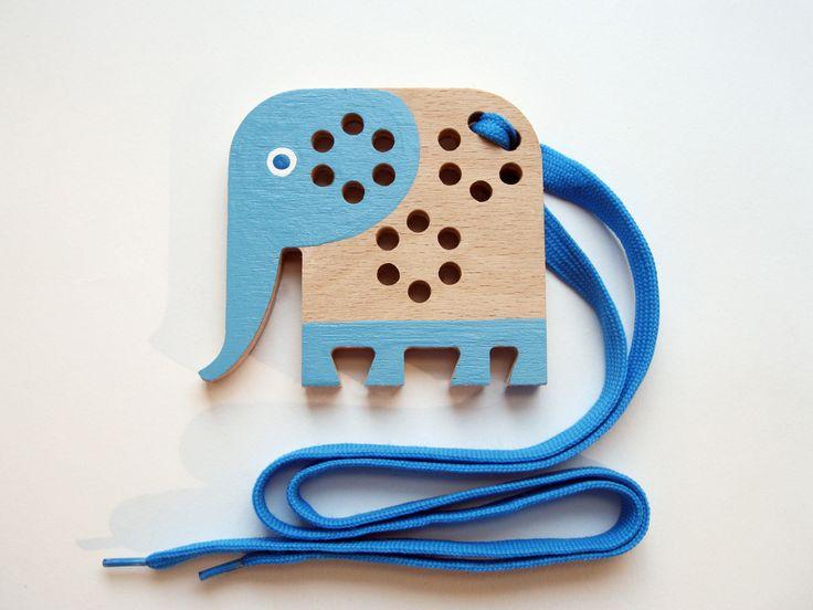 Slon+-+dřevěná+provlékací+hračka+Dřevěná+provlékačka,+didaktická+hra+pro+děti+na+podpoření+jemné+motoriky.+Sloník+je+vyřezán+do+tvrdé,+bukové,+10+mm+široké+překližky.+Dřevo+je+natolik+tvrdé,+že+nehrozí+odkousnutí+či+odštípnutí+vrstev.+Hračka+je+hladce+obroušena.+Velikost+slona+92+×+82+mm.+Použitá+barva+jenezávadný+Balakryl+s+certifikací+EN-71-3,...