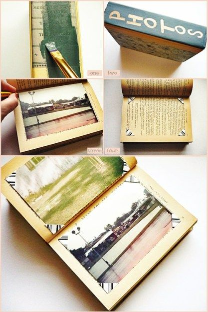 17 Best ideas about Make A Photo Album on Pinterest | Book binding ...