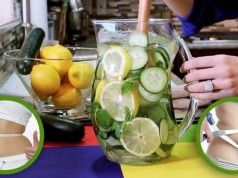 Cette recette d'eau citronnée fait le tour du monde, Votre ventre dégonflera en 5 minutes … c'est impressionnant