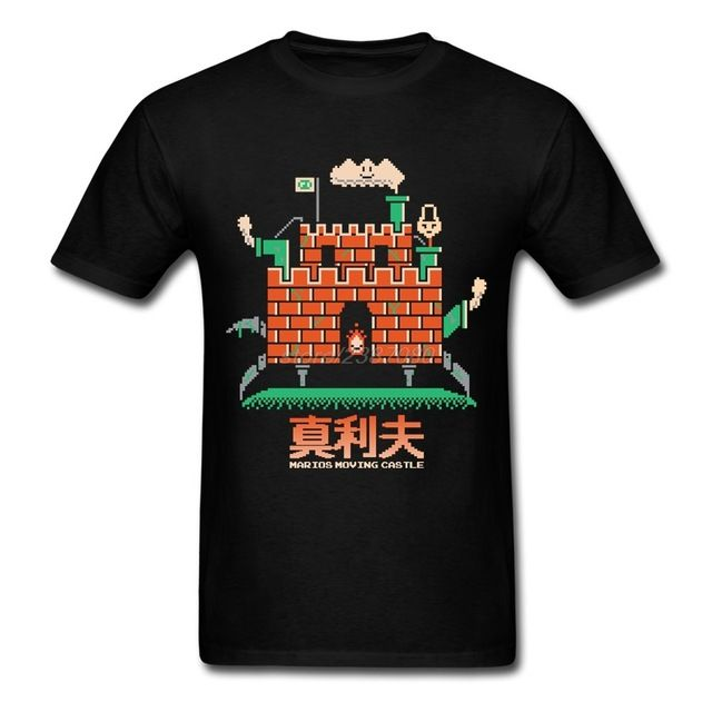 Check lastest price Comfort Tees Shirt Men Marios Moving Castle Rude T Shirts 100% Cotton Cheap Youth Cotton T-Shirt just only $12.10 with free shipping worldwide  #tshirtsformen Plese click on picture to see our special price for you