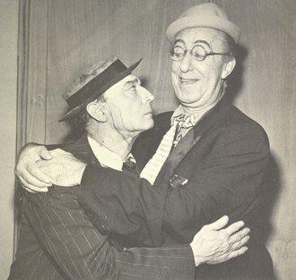 Buster with Ed Wynn, 1949