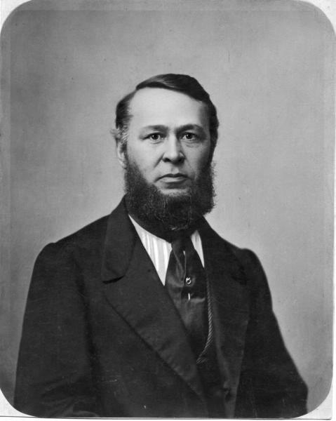 Портрет Николая Николаевича Тютчева - двоюродного брата поэта Федора Тютчева