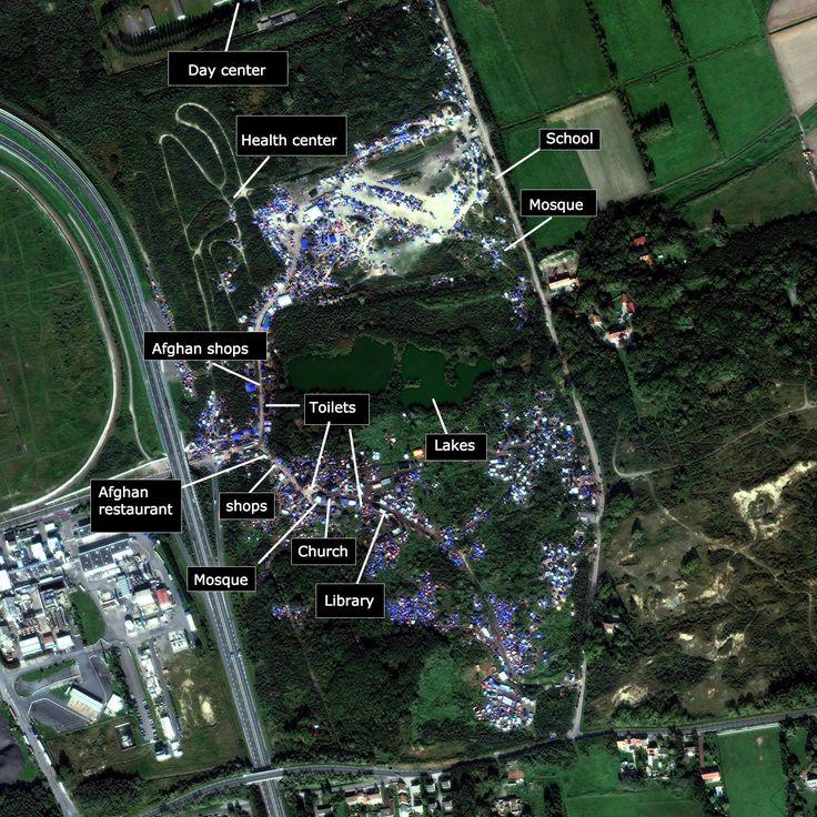 Inside the Jungle—the sprawling refugee encampment at the heart of Europe — Quartz