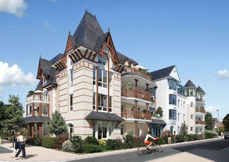 Secteur Quentovic au Touquet, Appartement T3 d'une surface hab de 69.35 m2 + terrasse au rez-de-chaussée du bà¢timent Topaze à proximité de la plage et des commerces. Parking et cave.
