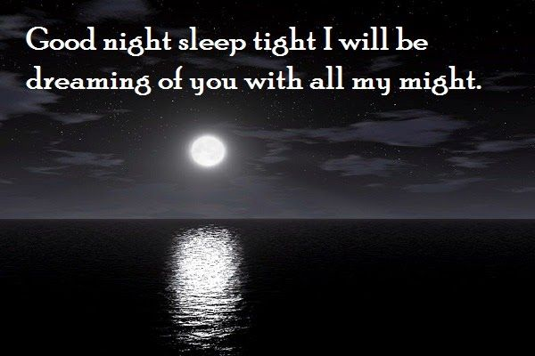 Cute good night quotes & messages for her/him | SayingImages.com