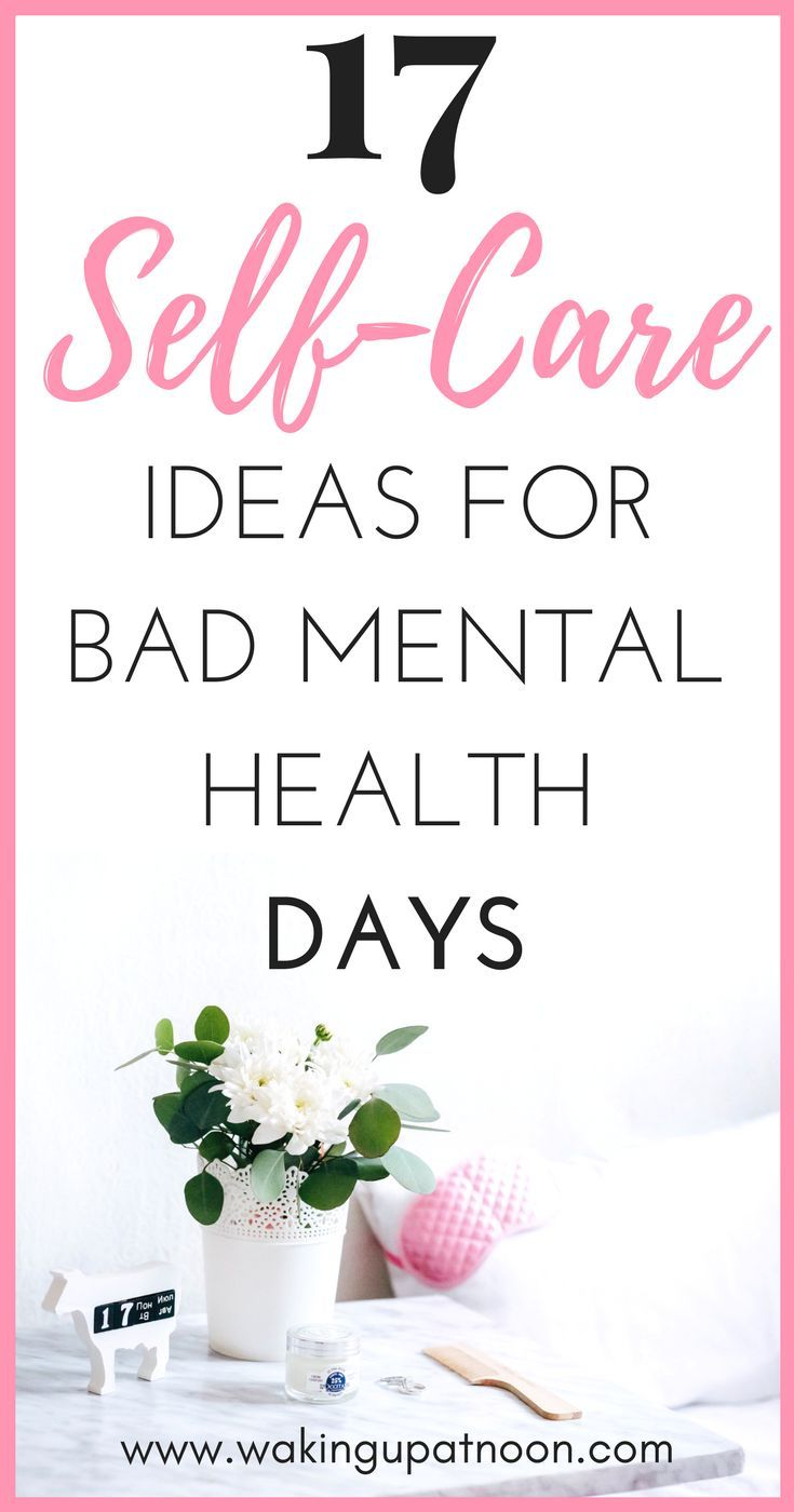 How to make a self care routine for your mental health bad days. | Self care can help reduce symptoms of depression, anxiety, stress and other mental illnesses. These self care ideas will make you happier and more positive and these self care products are great for any self care kit. #selfcare #selfcareideas #mentalhealth #anxiety #depression #selfcaretips #selfcareproducts #selfcareroutine