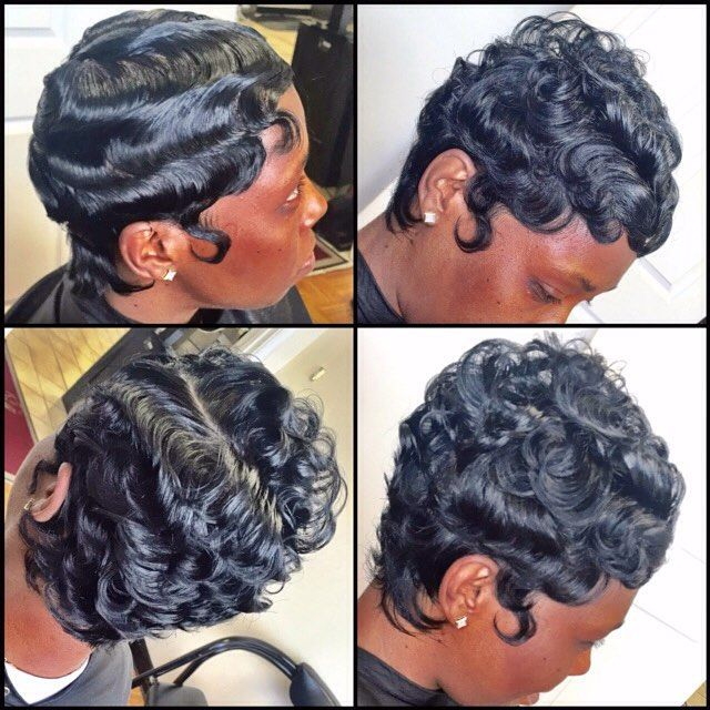 """STYLIST FEATURE  Gorgeous texture on this #pixiecut ✂️ styled 2 ways by #BaltimoreStylist @KoHairArtistry❤️ Flawless #VoiceOfHair ========================= Go to VoiceOfHair.com ========================= Free eBook, """"Let Your Hair Speak for Itself =========================="""
