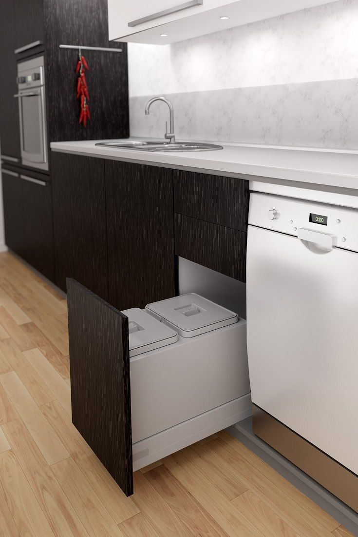 If you'd love to add a pull out rubbish bin to your kitchen layout, but aren't able to commit to a complete new kitchen just yet, you may just be able to install a Tanova drawer frame and bucket option into your existing kitchen! Designed to fit into most existing drawer brands, this frame and bucket option comes in grey and white, several cabinet width options and several bucket configurations.