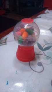 Ciaoverde: re-kreatív barkácskalandok: Miniatűr labdaautomata