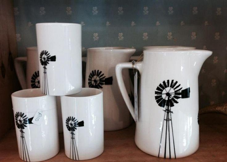 Karoo windmill range by Tamarillo ceramics