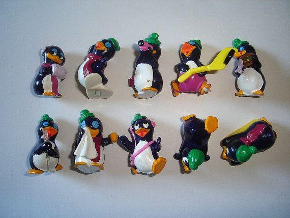 Kinder Surprise Set  Funny Pingos Penguins  by KinderSurpriseToys