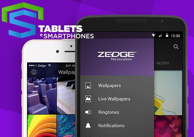 ZEDGE Ringtones & Wallpapers ou ZEDGE™ Toques, Fundos e Ícones é um app para facilitar o uso de papéis de parede e novos toques para seu Android facilmente