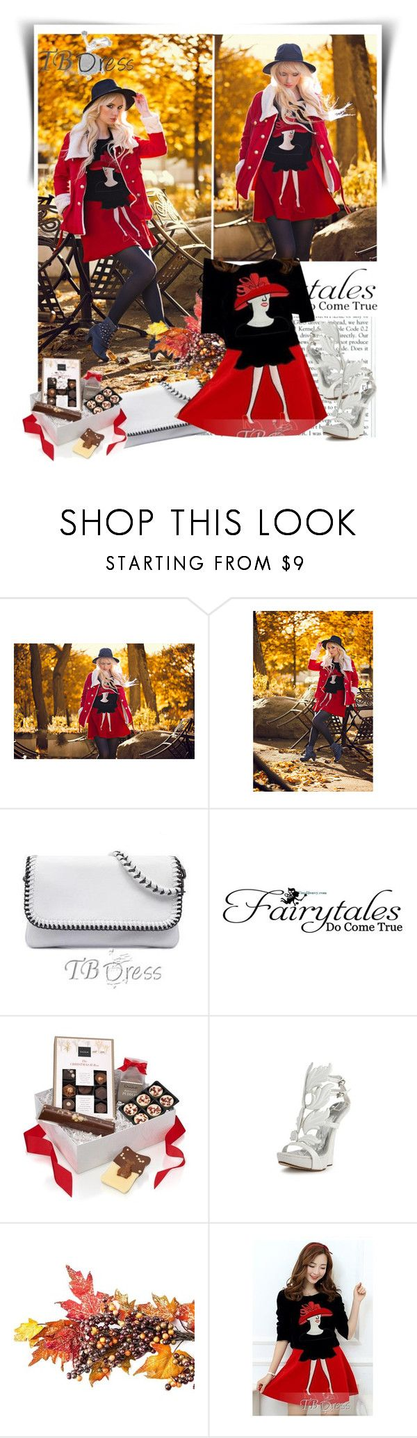 """""""TB Dress"""" by dalila-mujic ❤ liked on Polyvore featuring WALL and tbdress"""