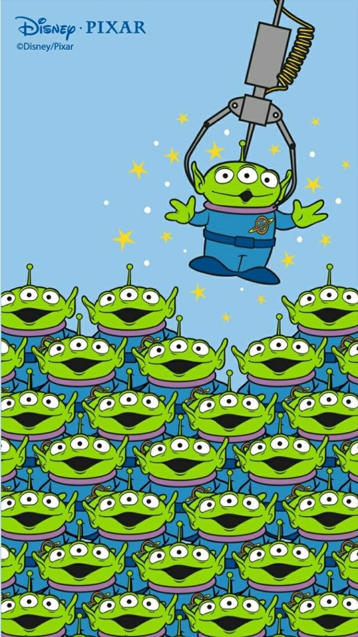 Wallpaper Background Toystory Alien Film Netherlands Disney