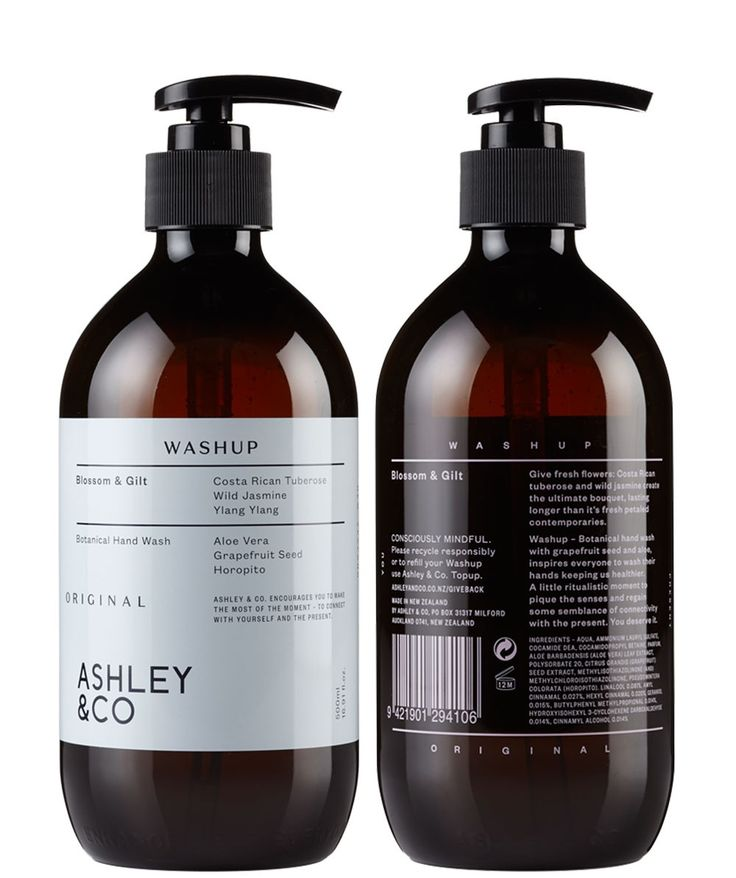 A special combination of natural antiseptics like grapefruit seed and aloe. The Wash Up Liquid Soap by Ashley and Co comes beautifully bottled - time to lather up! | huntingforgeorge.com