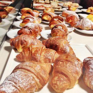Breakfast - croissant feast!