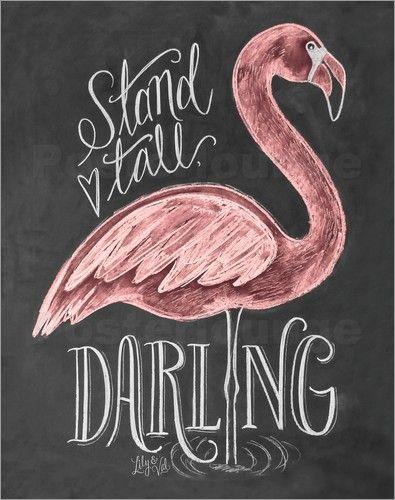 Poster Kopf hoch, Liebling