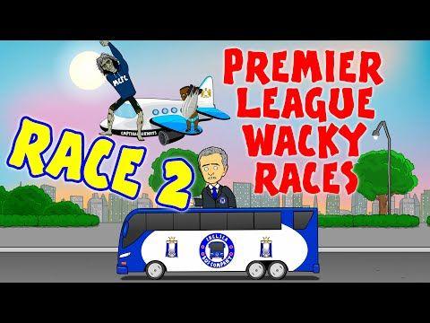RACE 2!!! Premier League Wacky Races (Man City 3-0 Chelsea, Norwich Sunderland and more!) - YouTube