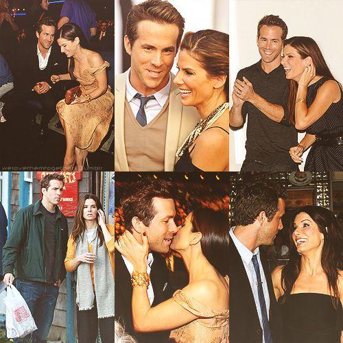 FAVORITE REAL LIFE FRIENDSHIPS  Sandra Bullock & Ryan Reynolds