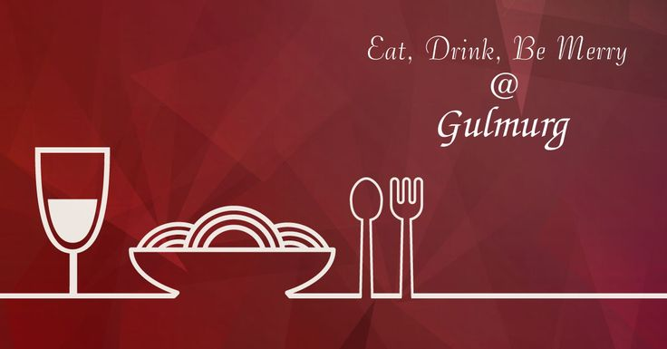 Share some great food journeys you have experienced with your friends.  Visit us at Gulmurg and you have one more exciting venue to add to your list of memorably happy #Foodie Tales.