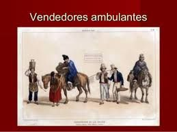 Vestimenta de Vendedores Ambulantes del 25 de mayo de 1810