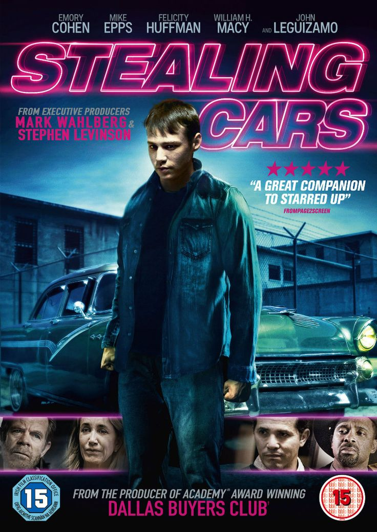 Emory Cohen Is STEALING CARS In New Trailer & DVD Artwork