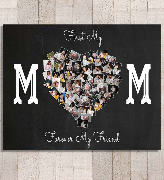 Mother's Day Gift Personalized Photo Collage by YourLifeMyDesign