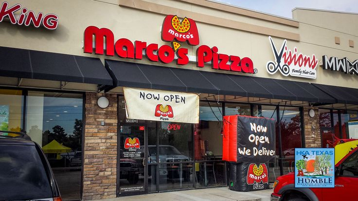 Marco's Pizza NOW OPEN in Atascocita – Dine in, Pickup, or Delivery @marcospizza