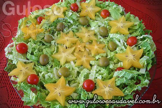 Salada de Acelga com Carambola » Receitas Saudáveis, Saladas » Guloso e Saudável