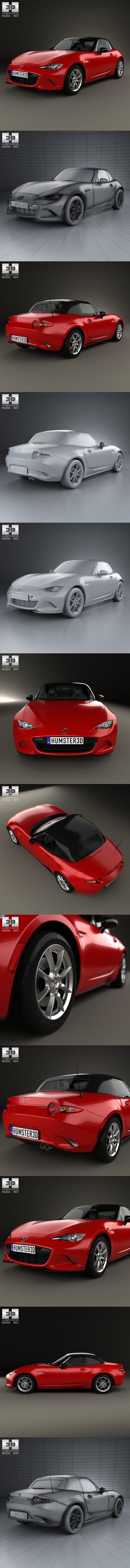 Mazda MX-5 2015. 3D Vehicles