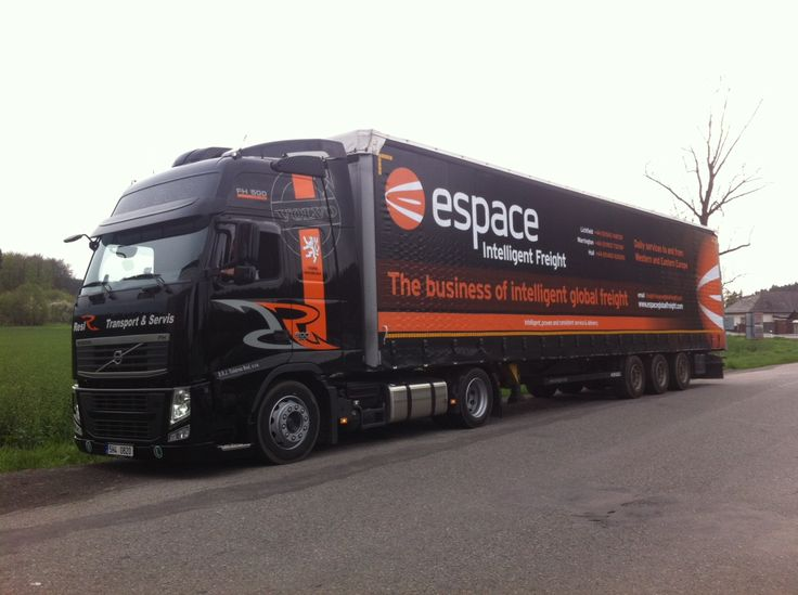 http://www.espaceeurope.co.uk/european-road-freight/ As we've grown we've established a large fleet of haulage vehicles, all well-equipped and maintained to the highest standards.  Espace Europe Ltd, 71a Upper St John Street, Lichfield. Staffs. WS14 9DT.