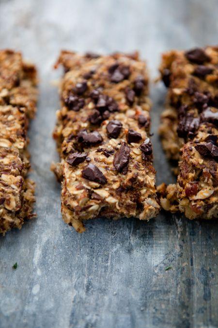 5 Ideen für einen gesunden Start in den Tag - Oatmeal-Bars - www.kuechenchaotin.de
