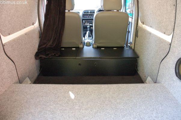 Suzuki Carry Small Camper Conversion