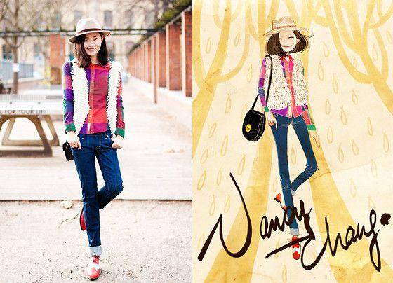 The urban self. (by Nancy Zhang) http://lookbook.nu/look/2769955-The-urban-self