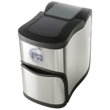 Ultra Composter Silver now featured on Fab. $279Naturemil Automatic, Compost Bins, Kitchens Compost, Naturemil Compost, Ultra Compost, Indoor Compost, Gardens, Products, Naturemil Ultra