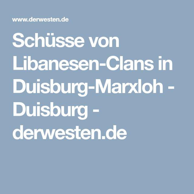 """Schüsse von Libanesen-Clans in Duisburg-Marxloh - Duisburg -  derwesten.de => weitere """"Danksagungen"""" an Merkel & Co., Führung der mehrfarbigen Einheitspartei der Republik des Bundes"""
