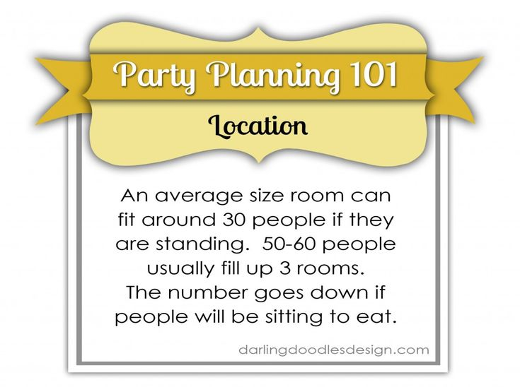 Party Planning 3