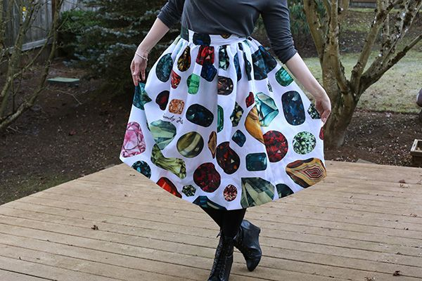 How To: DIY Ballroom Skirt...from a Shower Curtain
