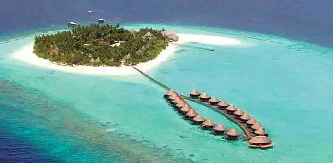 Angaga Island Resort and Spa - Overwater Bungalows