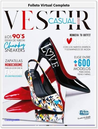 9e149c5b Price Shoes Catalogo Vestir Casual 2019: Zapatos de Moda. #CatalogosMX # PriceShoes