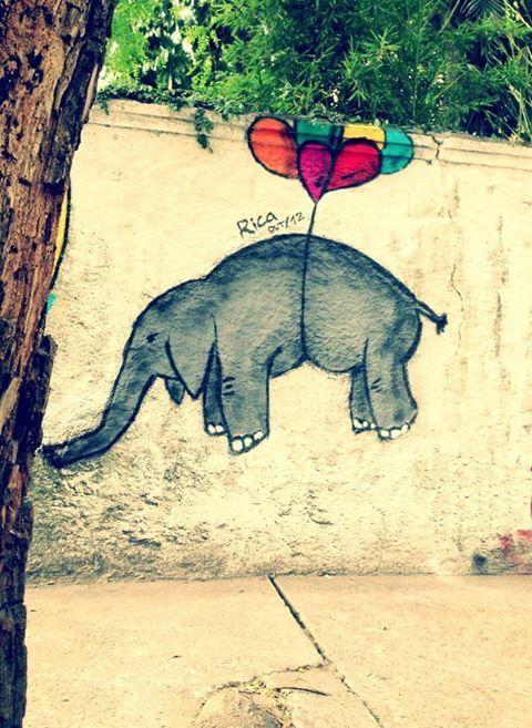 By Rica in São Paulo, Brazil. Photo by Ricardo Targa. Street Art Utopia