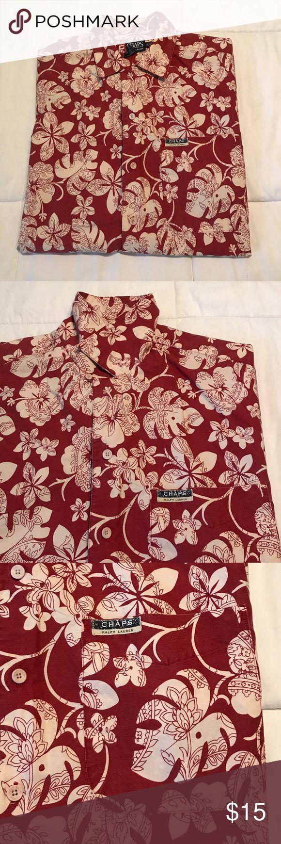 Chaps Ralph Lauren men's shirt Chaps Ralph Lauren men's shirt. EUC. Size S. Chaps Ralph Lauren Shirts Casual Button Down Shirts