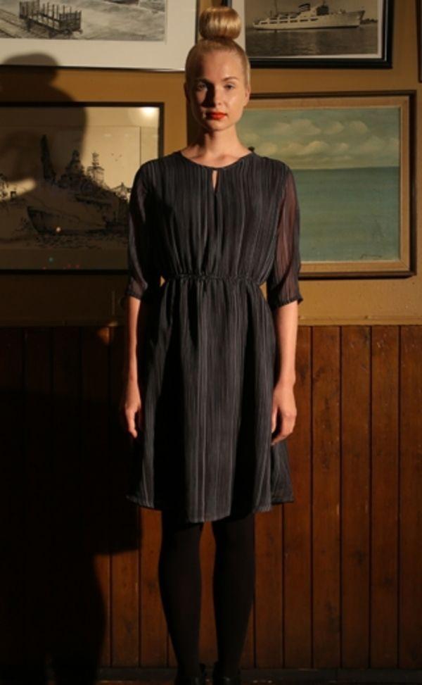 Ivana Helsinki Grey Mabel Dress