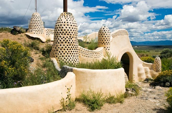 Earthship Hotel - 10 Off-Beat Hotels Around the U.S. | Fodor's Travel